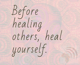 Before healing others, heal yourself African saying proverbs