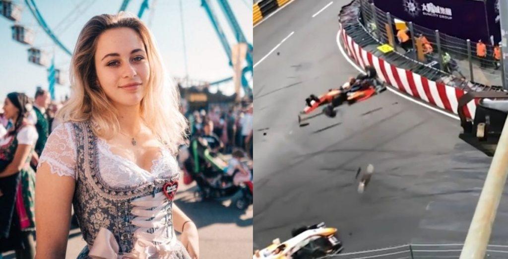 W wypadku złamała kręgosłup, po 105 dniach wróciła na tor wyścigowy