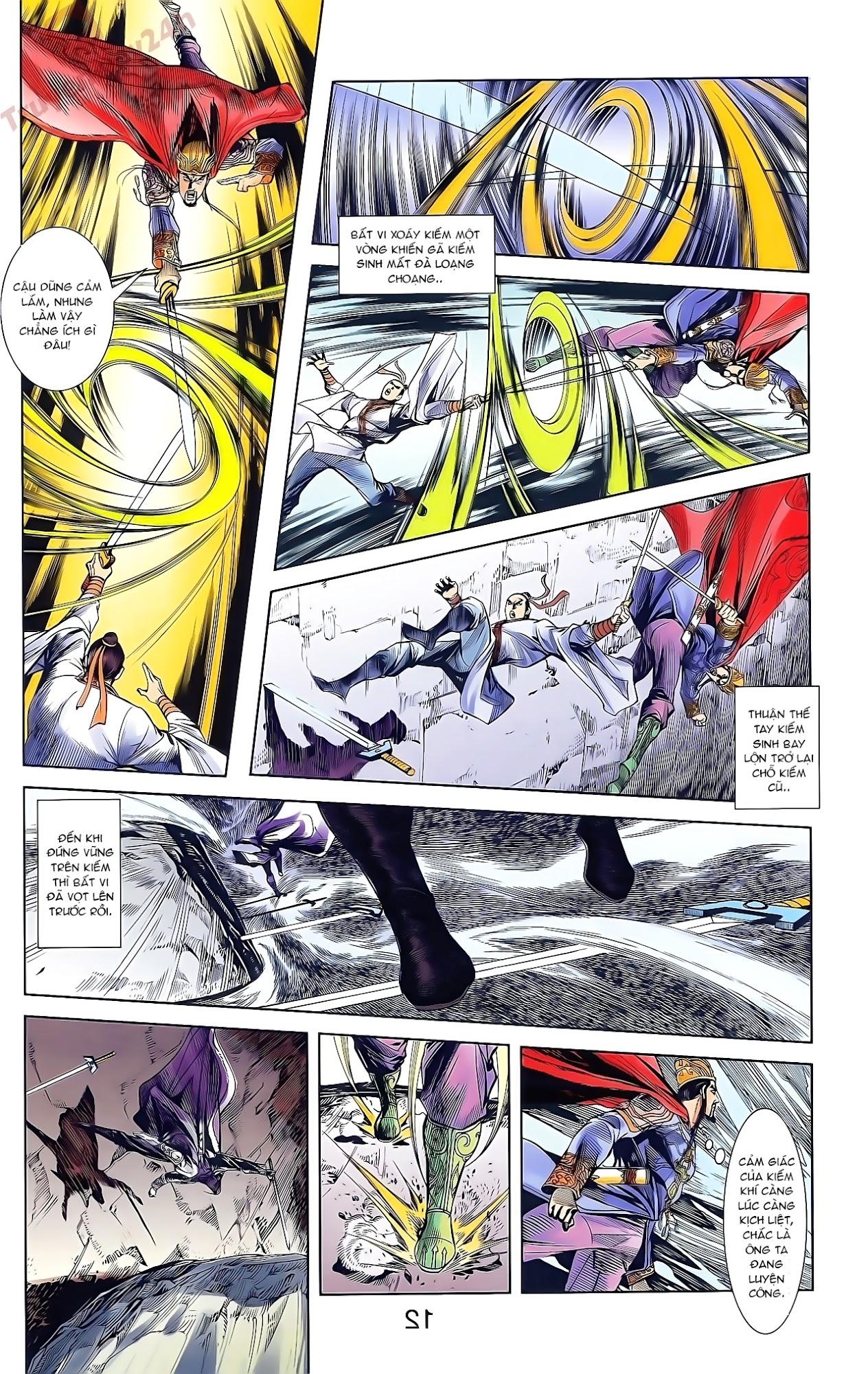 Tần Vương Doanh Chính chapter 47 trang 25