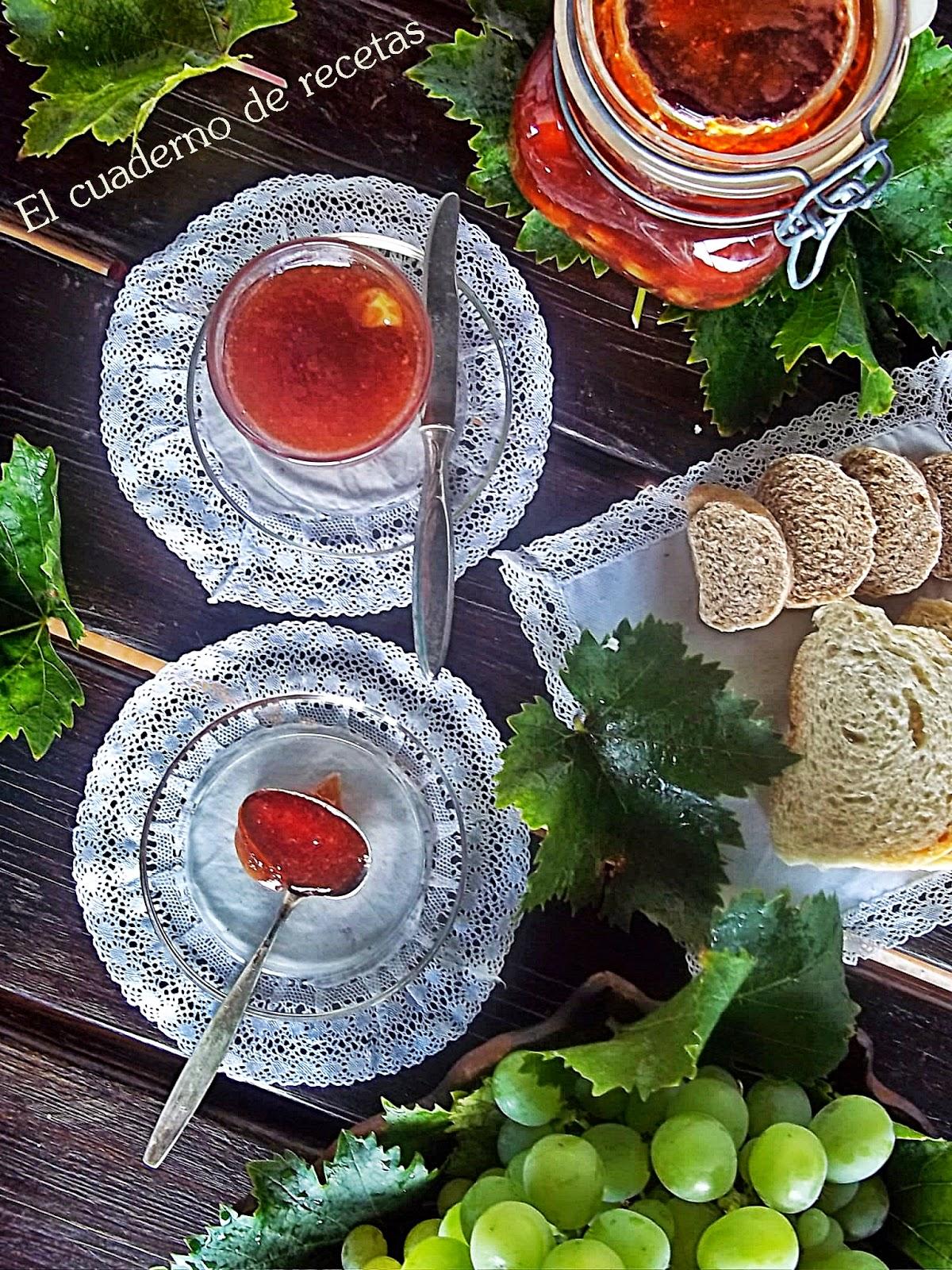 Mermelada Extra De Uvas Moscatel