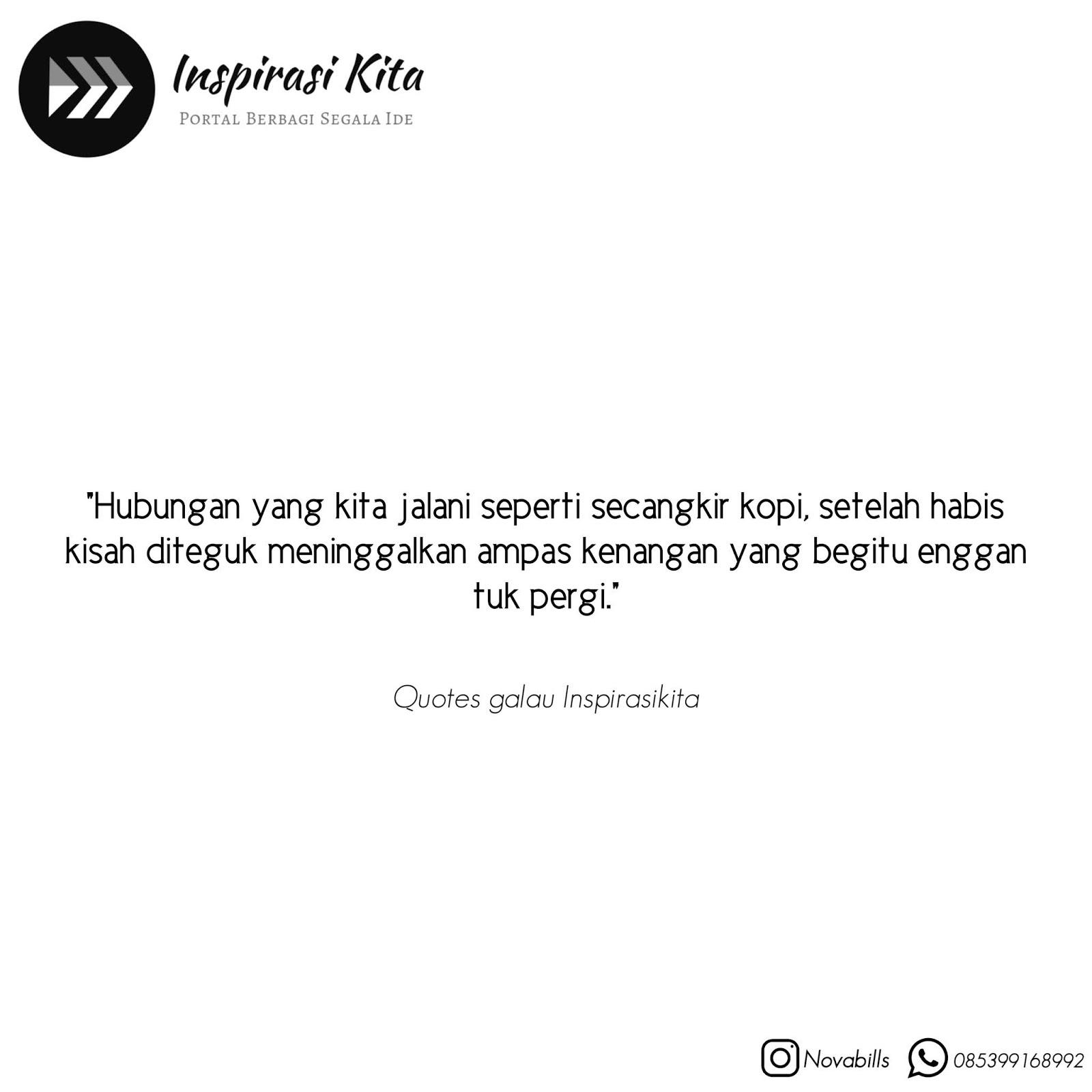 quotes galau inspirasi kita