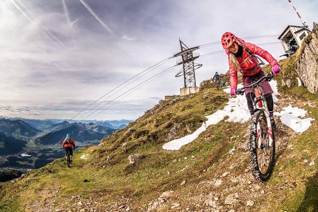 Trail für Biker Kitzbühler Horn