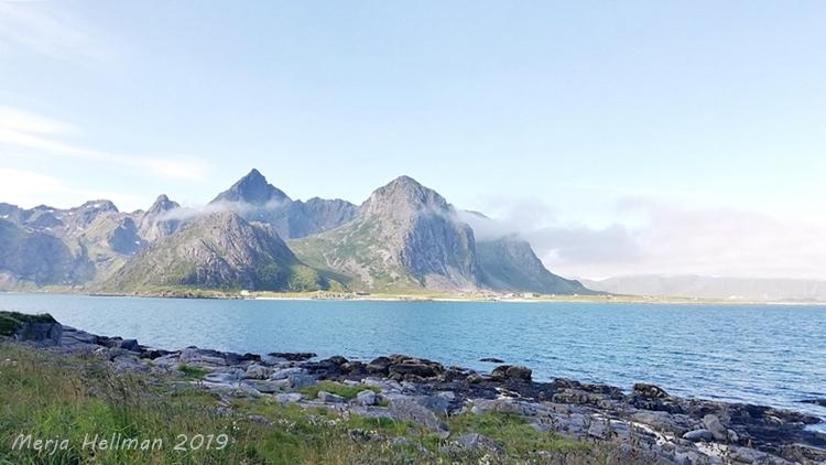 maisemakuva Norjassa