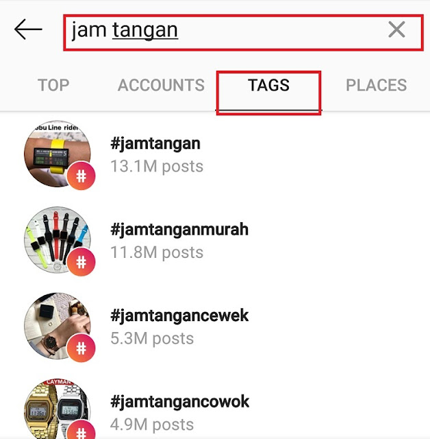 Cara Reset Hastag Populer di Instagram