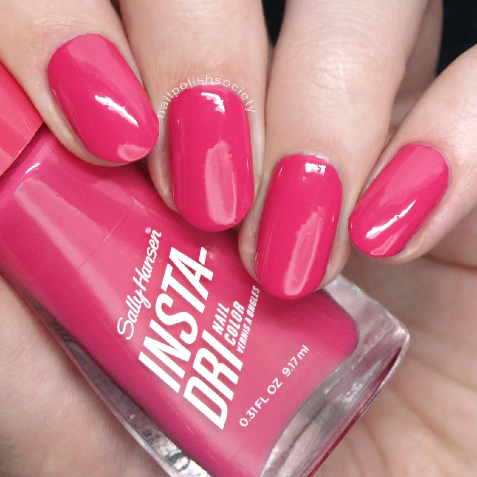 Nail Polish Society Sally Hansen Insta Dri 16 New Shades