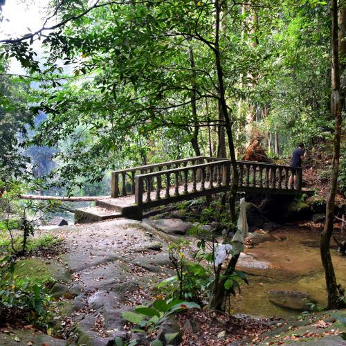 Indahnya Kanching Rainforest Waterfall Kuala Lumpur