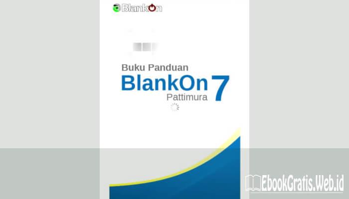 Ebook Buku Panduan Blakon 7 Pattimura