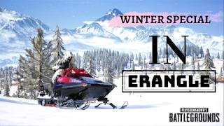 Winter Mode In Erangel Map In PUBG Mobile.