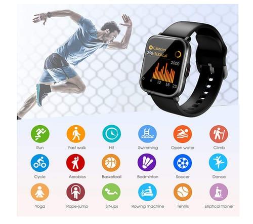 DR.VIVA CS201C Waterproof Fitness Tracker Smart Watch