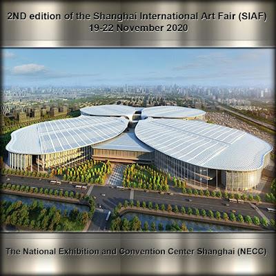 Ramón Rivas en el Centro Nacional de Exposiciones y Conferencias Shanghai
