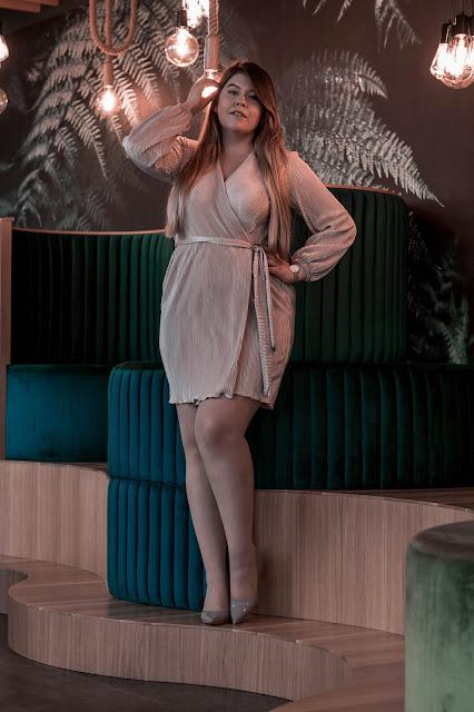 Sukienka Kopertowa Wesele
