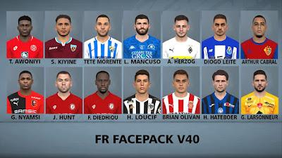 FR Facepack 40 For PES2017 PC