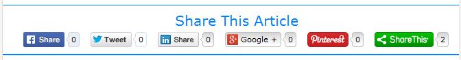 cara memasang tombol share dibawah postingan - Blog Mas Hendra