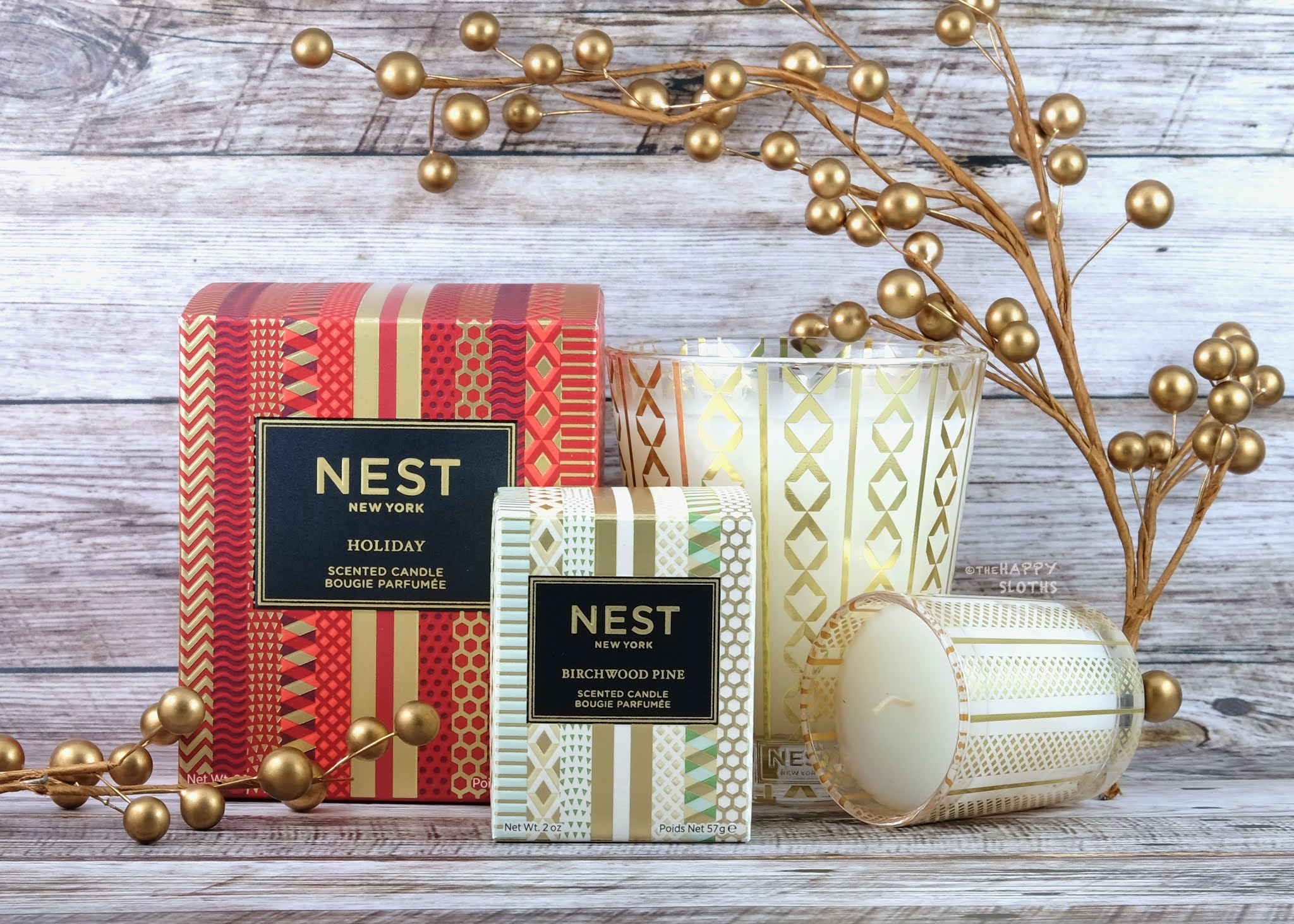 NEST New York | Holiday 2020 Holiday Candle & Birchwood Pine Candle: Review