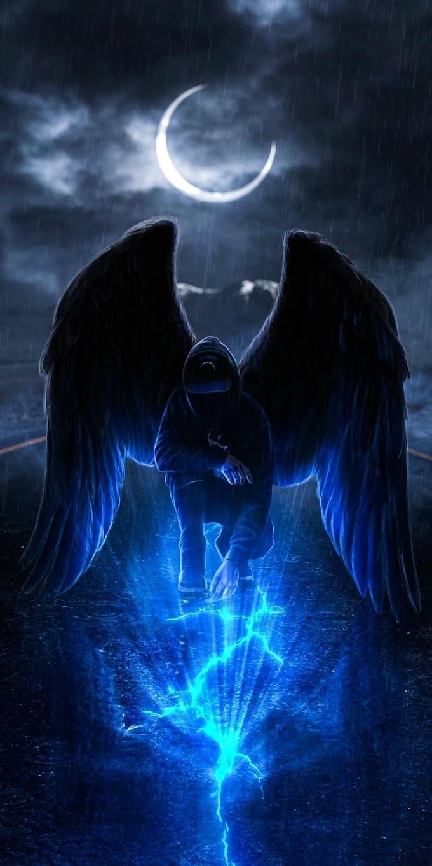 Dark Angel Wallpaper Iphone 8 Plus Hd