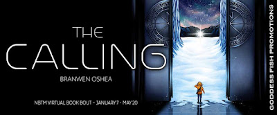 Goddess Fish tour banner for The Calling