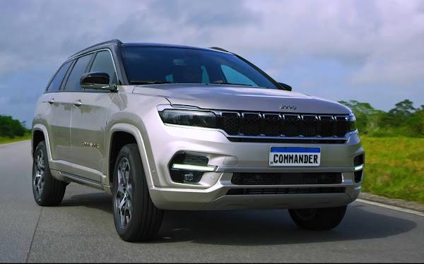 Jeep Commander Overland T270 Flex 2022: fotos oficiais divulgadas