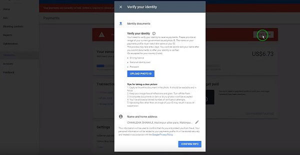 How To Make Sure You Don't Fail The Adsense Identity Check