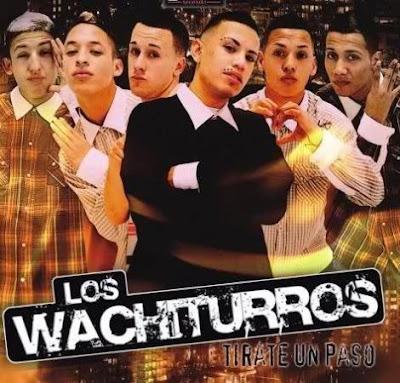 Foto de Los Wachiturros en portada de disco