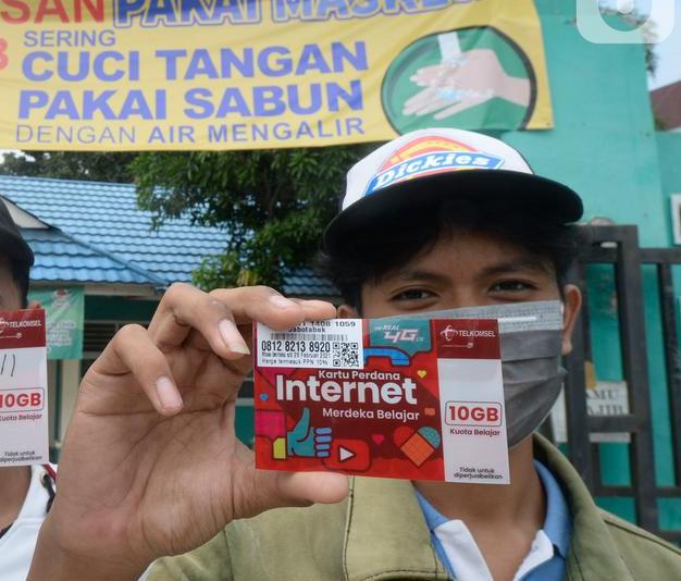 Cara Mendapatkan Kuota Internet Gratis untuk Belajar Online dari Kemendikbud