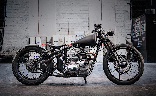 Triumph Bonneville 1970 By Origin8or Custom Motorcycles Hell Kustom