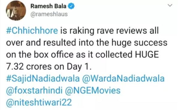 chhichhore-vs-saaho-box-office-collection-and-film-review