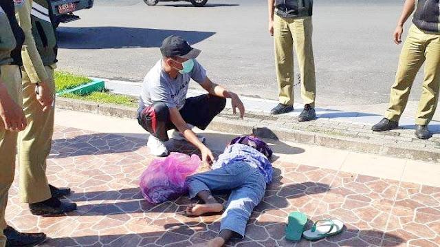 Siswa SMP Pingsan Tergeletak di Alun-alun Demak, Dikira Korban Corona, Ternyata Kelaparan