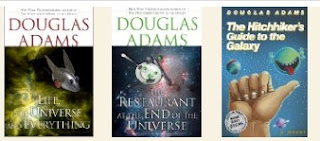 The Hitchhiker's Guide, books 1-3, via LibraryThing