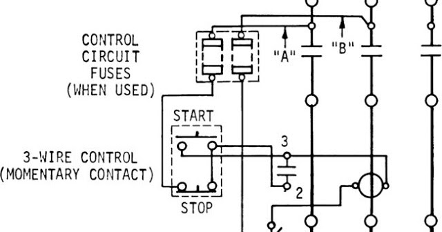 Electrical Mechanical Engineering Technology 3 Wire Start Stop Wiring Diagram