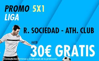 suertia promocion liga Real Sociedad vs Athletic 9 febrero 2020
