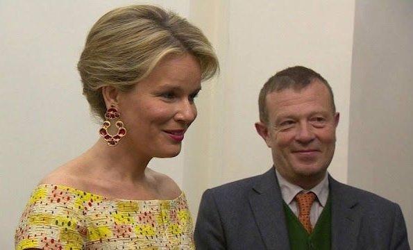 Queen Fabiola, Crown Princess Mathilde and Princess Margaretha of Liechtenstein