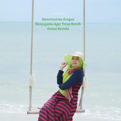 Pantai Reviola Merupakan Pantai Baru yang ada di  Pulau Galang Barelang Batam
