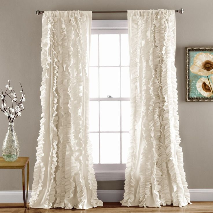 Contemporary Style Curtains Valance Window Contessa Continental Curtain Rod