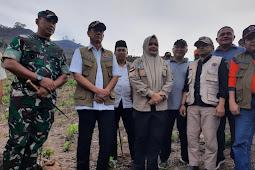 Danrem 162/WB Bersama Walikota dan Bupati Bima Dampingi Kepala BNPB RI Kunjungi Dam Pela Parado