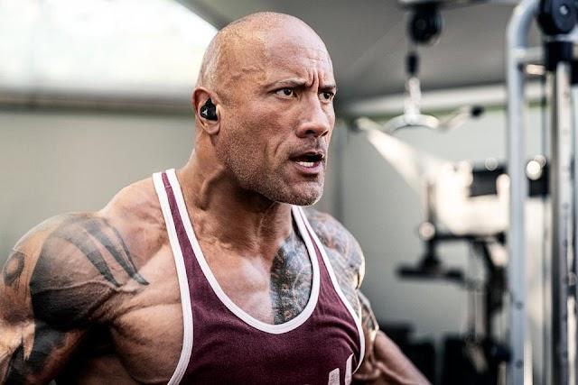 Dwayne Johnson alias Rock's statement on becoming US President says bald, tattooed and half black...