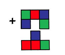 Qual figura corresponde a essa soma?