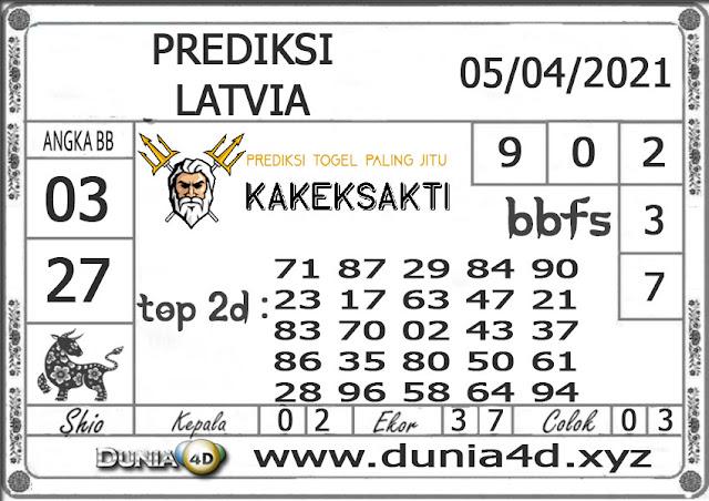 Prediksi Togel LATVIA DUNIA4D 05 APRIL  2021