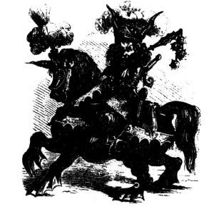 Goetia - Alloces (ilustração)