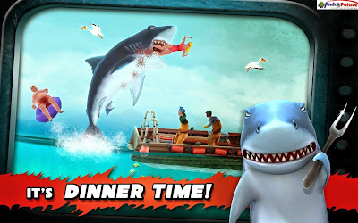 Download Hungry Shark Evolution v4.8.0 APK Full Terbaru 2017 + Mega Mod