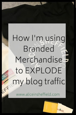 Branded Merchandise Exploded my blog traffic