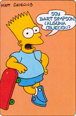 Bollycao The Simpsons Cromo 51