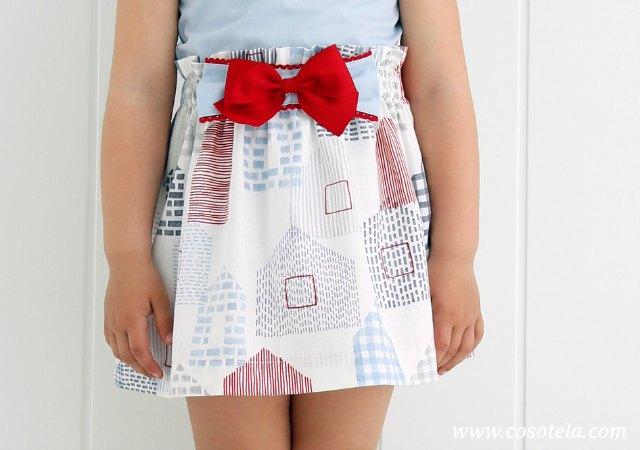 Lazada para decorar falda.