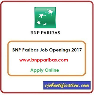 Software Engineer Openings at BNP Paribas Jobs in Chennai Apply Online