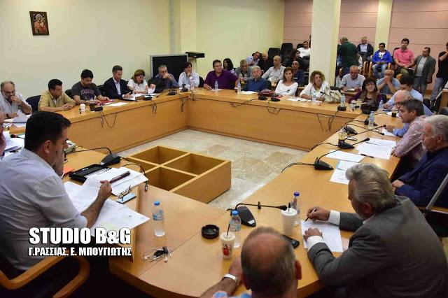 Δημοτικό συμβούλιο στο Ναύπλιο στις 13 Νοεμβρίου