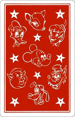 Juego Familias Walt Disney Reverso
