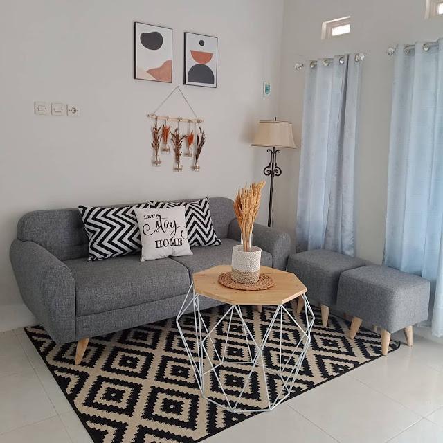 Sofa Minimalis untuk Ruang Tamu Ukuran 3×3