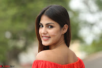 Rhea Chakraborty in Red Crop Top and Denim Shorts Spicy Pics ~  Exclusive 183.JPG
