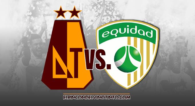 Confirmado cambio de horario del juego entre DEPORTES TOLIMA y La Equidad, por la fecha 12 de la Liga Águila 2 2019