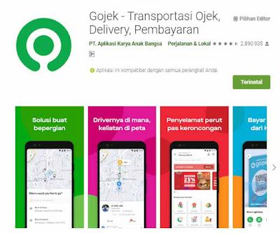 Aplikasi Ojek Online