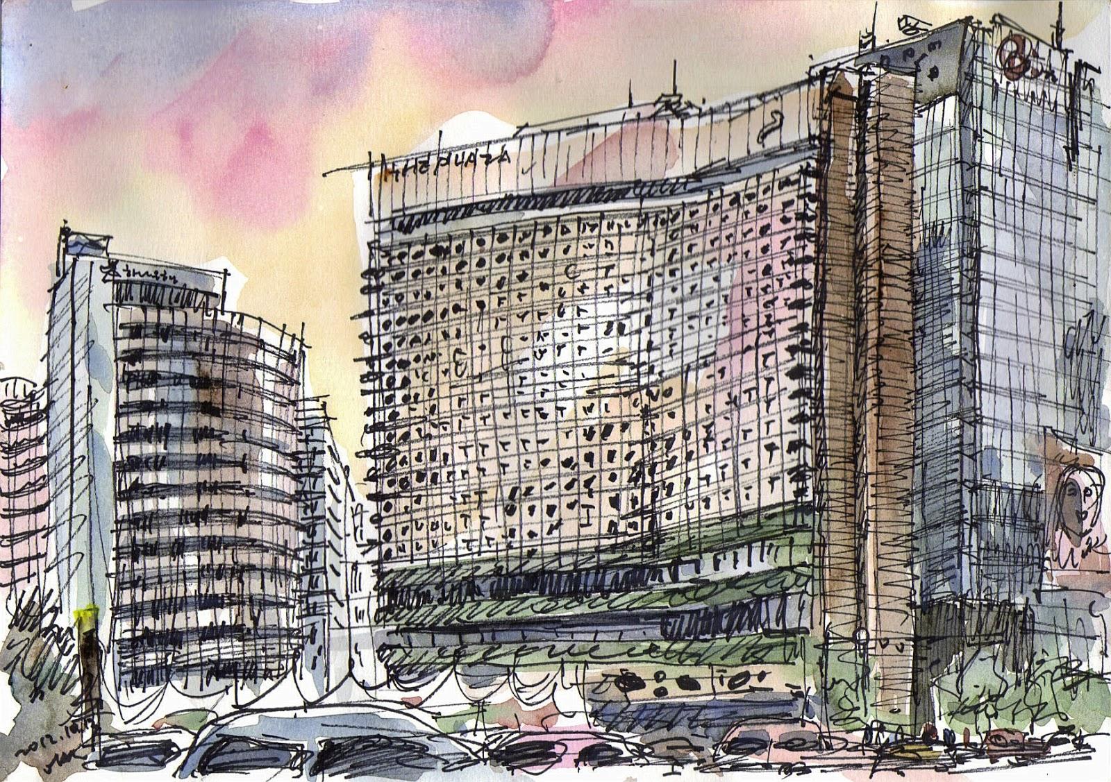 Seoul Urban Sketchers  37th World Wide Sketchcrawl Around Seoul City Hall And Jeong